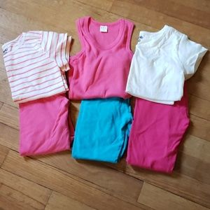 Lot of Girls outfits